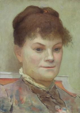 Portrait of La Goulue, c.1880-85