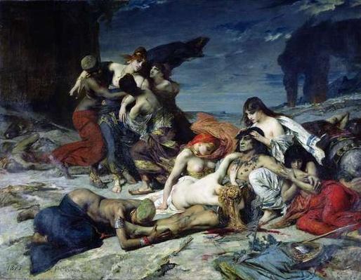 The Death of Ravana, 1875