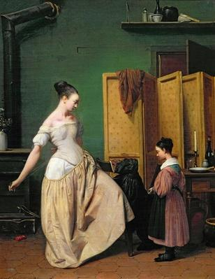 Woman at her Toilet, 1835