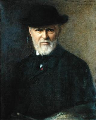 Portrait of Jean-Jacques Henner