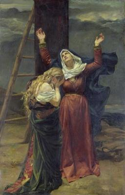 The Virgin at the Foot of the Cross