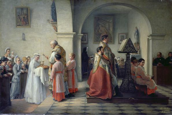 Blessing the Bread, 1879