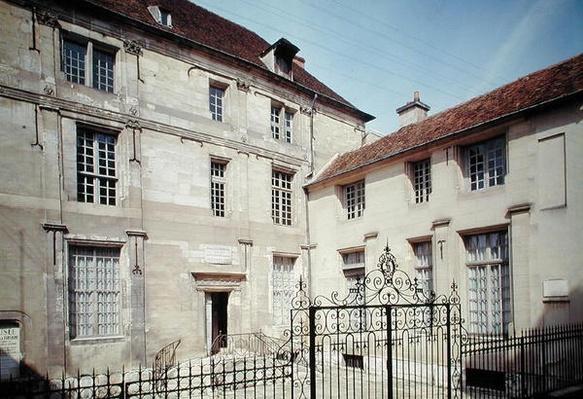 The birthplace of Jean de la Fontaine