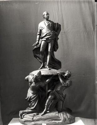 Model for the monument of Louis XV