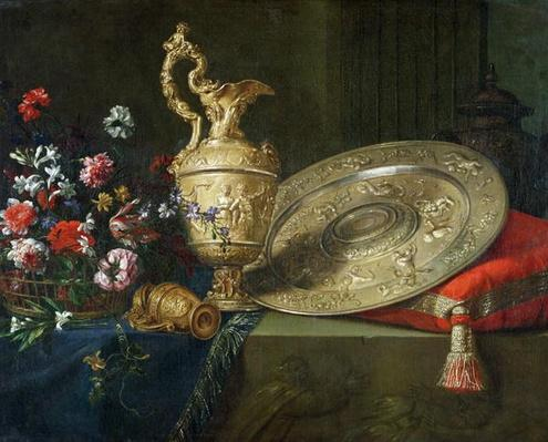 Still Life with a Gilded Ewer