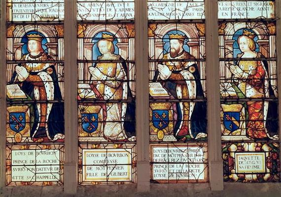 Window depicting Louis de Bourbon
