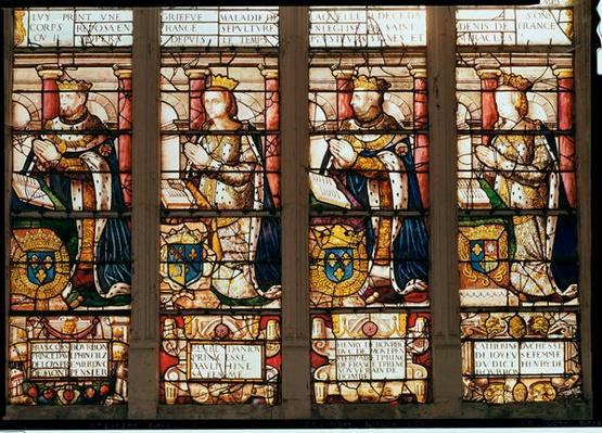 Window depicting Francois de Bourbon