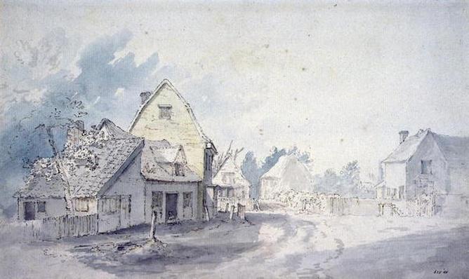 East Bergholt Street, East Bergholt