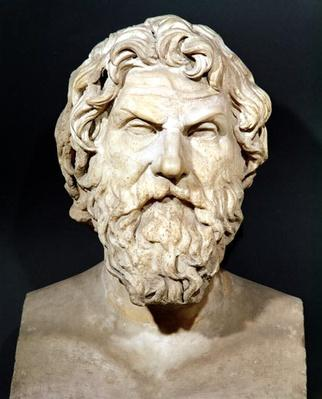 Bust of Antisthenes