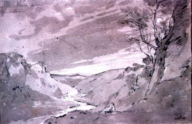 On the Dove near Buxton, 1801