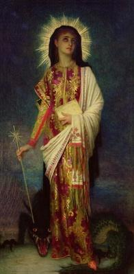 St. Margaret Slaying the Dragon