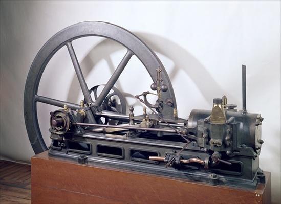 Internal combustion engine designed by Etienne Lenoir