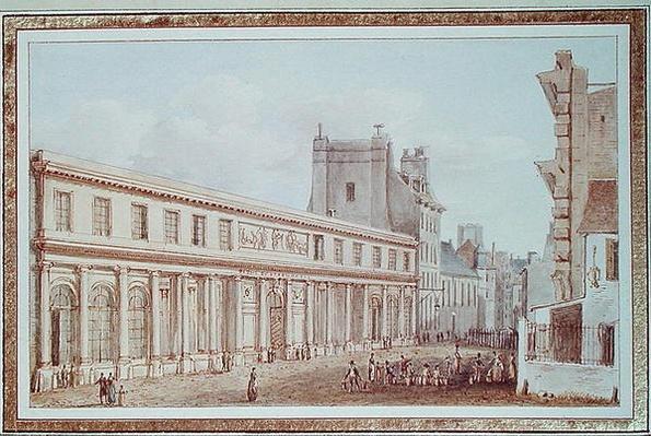 View of the Ecole de Medecine, Paris