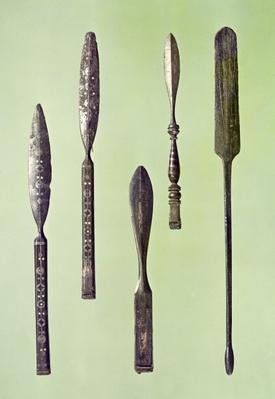 Oculist's instruments, c.270