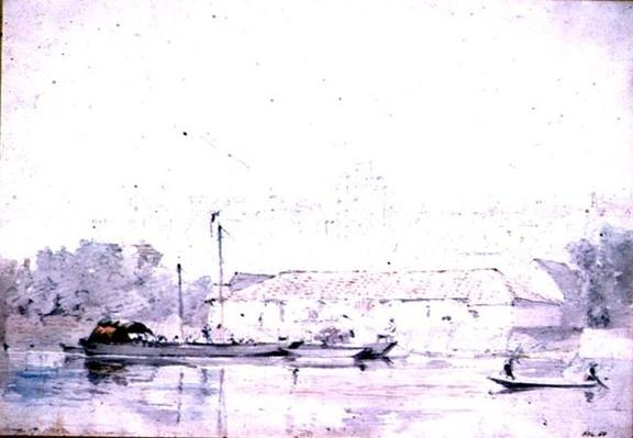 Windsor Castle from the River, 1802