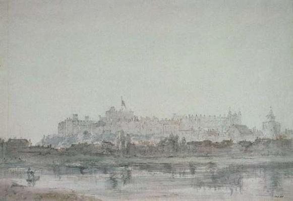 Windsor Castle from the River, 19th century