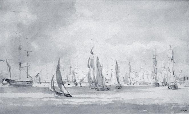 Shipping in the Thames
