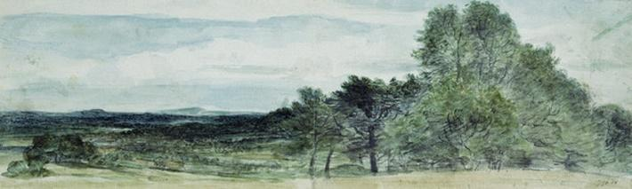 A View at Hursley, Hampshire, 1804
