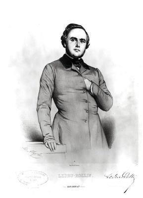 Portrait of Alexander Ledru-Rollin