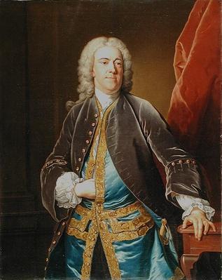 The Right Honourable Stephen Poyntz, of Midgeham, Berkshire, c.1740