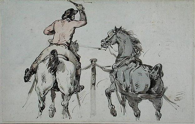 An English Postilion, c.1785