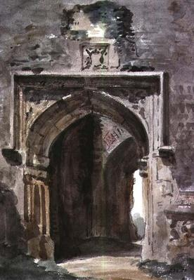 East Bergholt Church: South Archway of the Ruined Tower, 1806