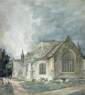 East Bergholt Church, c.1805-11