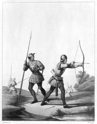 Free archers during the reign of Louis XI
