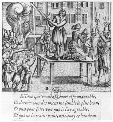 Execution of Leonora Galigai