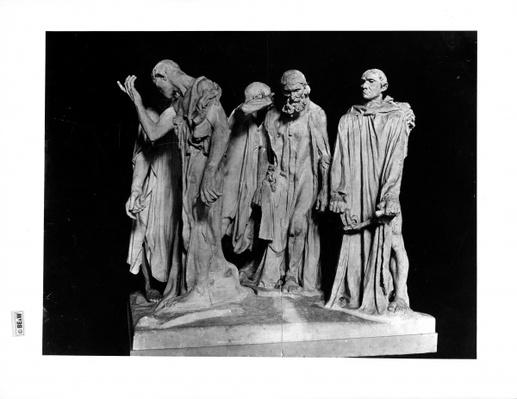 The Burghers of Calais, 1889
