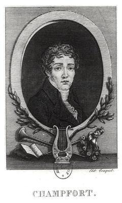 Portrait of Sebastian-Roch Nicolas