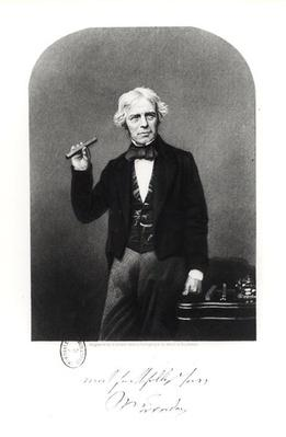Portrait of Michael Faraday