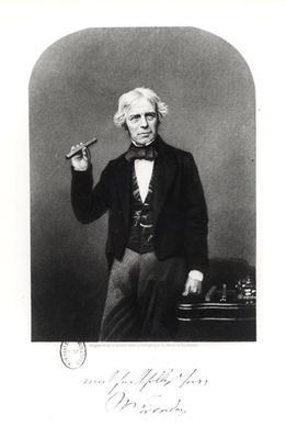 Portrait of Michael Faraday