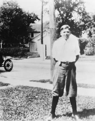 Ronald Reagan as a child
