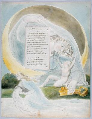 'The Progress of Poesy', design 49 from 'The Poems of Thomas Gray', 1797-98