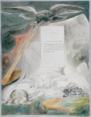 'The Bard', design 54 from 'The Poems of Thomas Gray', 1797-98