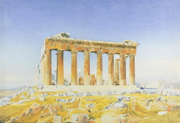 The Parthenon, c.1834