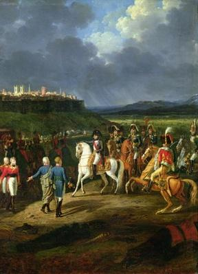 The English Prisoners at Astorga Being Presented to Napoleon Bonaparte