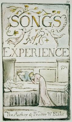 Title Page from 'Songs of Innocence and of Experience,