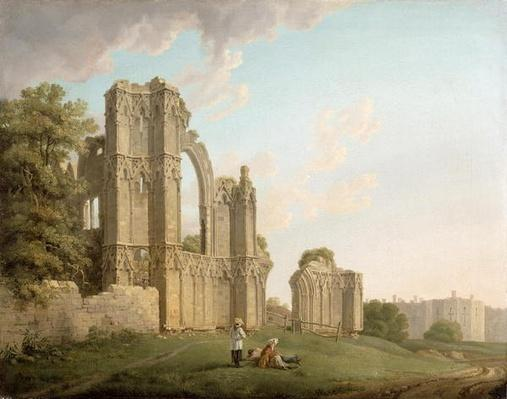 St Mary's Abbey, York, c.1778