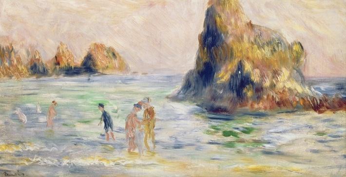 Moulin Huet Bay, Guernsey, c.1883