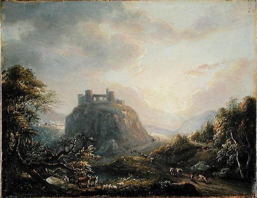 Landscape with a Castle, 1808
