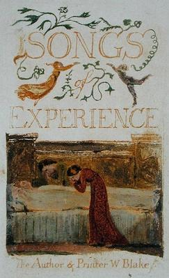 Experience, Title Page, form 'Songs of Experience,' 1794