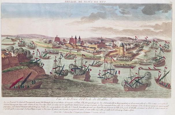 The Siege of Malta, 12th June 1798