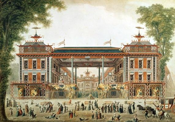 The Chinese Baths in Paris, established by Lenoir