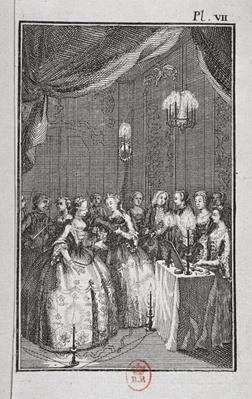 Reception of Ladies at the Lodge of Mopses