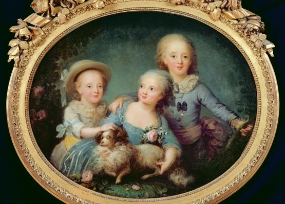 The Children of Charles de France, 1781