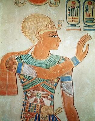 Portrait of Ramesses III