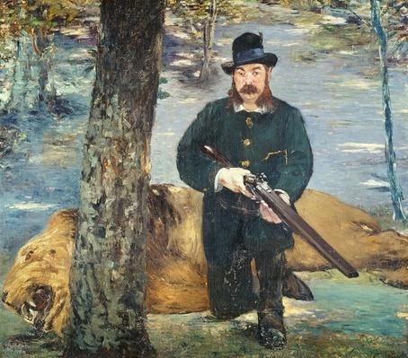 Pertuiset, Lion Hunter, 1881