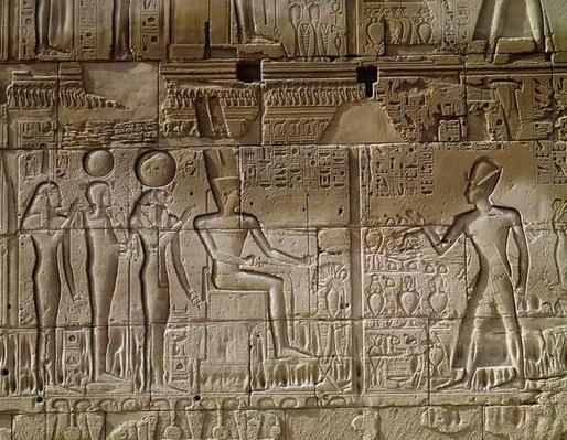 Relief depicting Seti I